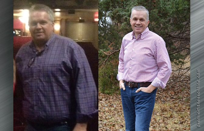 Steve lost 80 pounds and dropped 20 points in body fat!