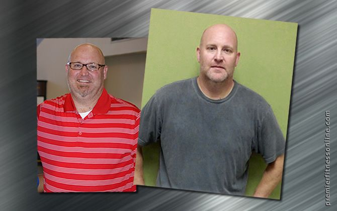 Marc lost 45 pounds – and got better insurance!*