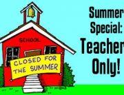Teachers' Special