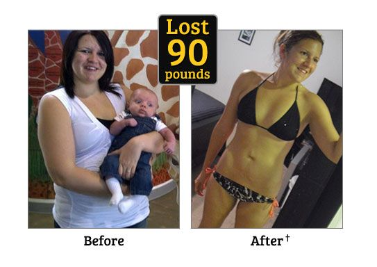 Weight loss results by a Wichita fitness trainer